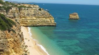 Not just golf but also beaches - Praia da Marinha