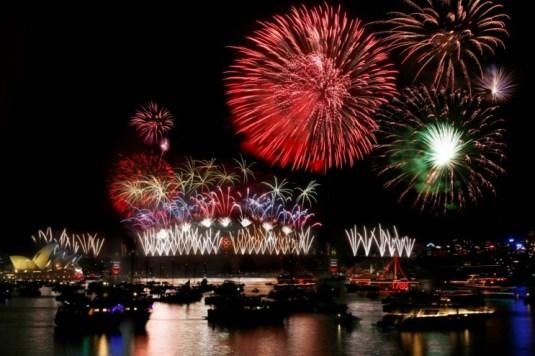New Year Celebrations, Sydney Bridge, Sydney