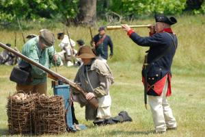 Valley Forge re-create history