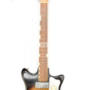 Vintage 60s Hy-Lo Teisco semi hollow body electric guitar ...