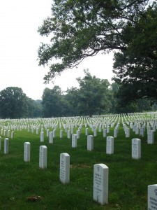 Tombstones_at_Arlington_National_Cemetery,_July_2006