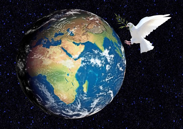 The White Dove of Peace on Earth