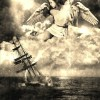 angel-saving-sinking-ship-hurricane