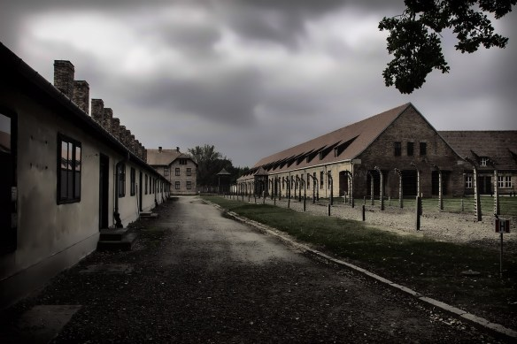 nazi-death-camp-at-Auschwitz-Poland