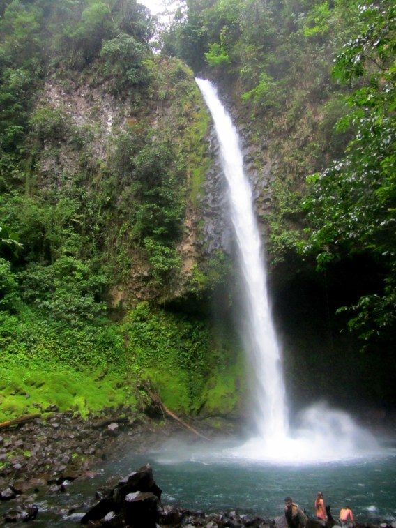la fortuna, waterfall, costa rica
