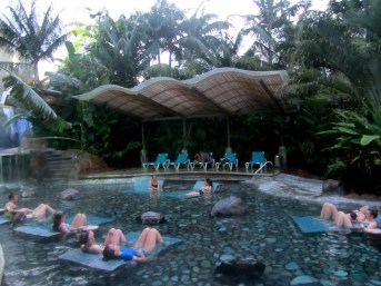 baldi thermal spa, la fortuna, costa rica