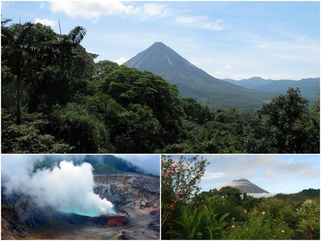 Costa Rica, Poas, Arenal, Volcanoes