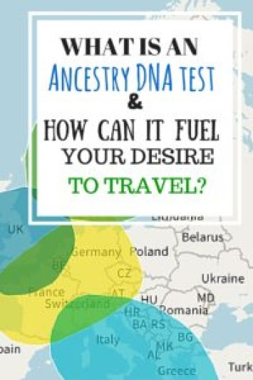 Ancestry DNA & Travel- Pinterest