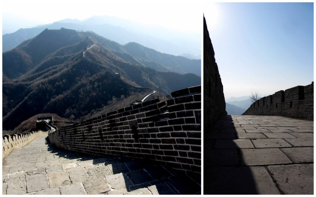 great wall, china, beijing, mu tian yu