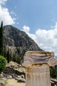 Delphi, Greece, Temple of Apollo