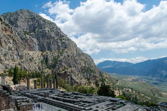 Delphi, Greece, Temple of Apollo