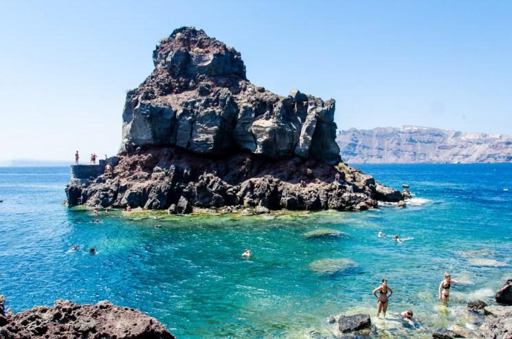 Amoudi Bay, Oia, Santorini, Agios Nickolaus, Greece