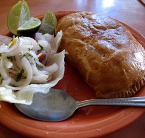 Peruvian Food: Empanadas in Cuzco