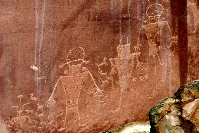 fremont petroglyphs utah capitol reef, Utah Road Trip