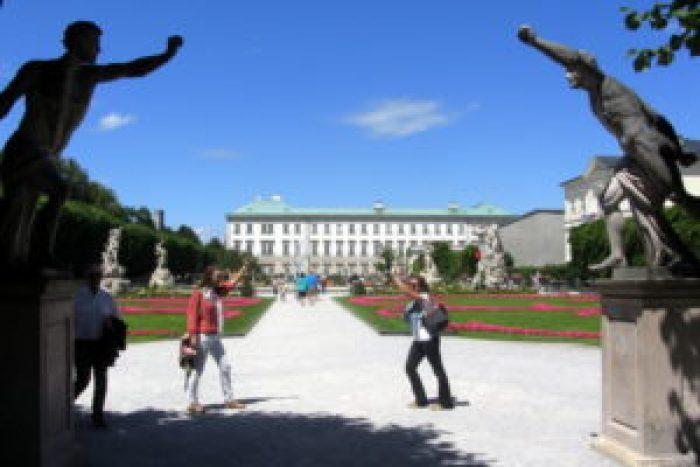 Sound of Music, Salzburg, Austria, Mirabell Gardens