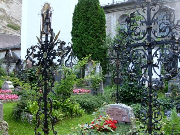 St Peter's Cemetery Salzburg Sound of Music, Salzburg, Austria