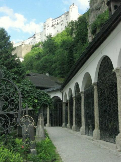 St Peter's Cemetery Salzburg Sound of Music, Salzburg, Austriag