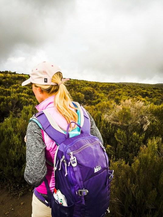 Christina Back Hiking