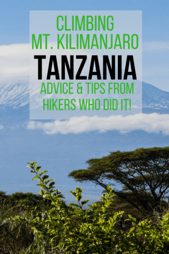 Tips and Advice for climbing Mount Kilimanjaro in Tanzania!