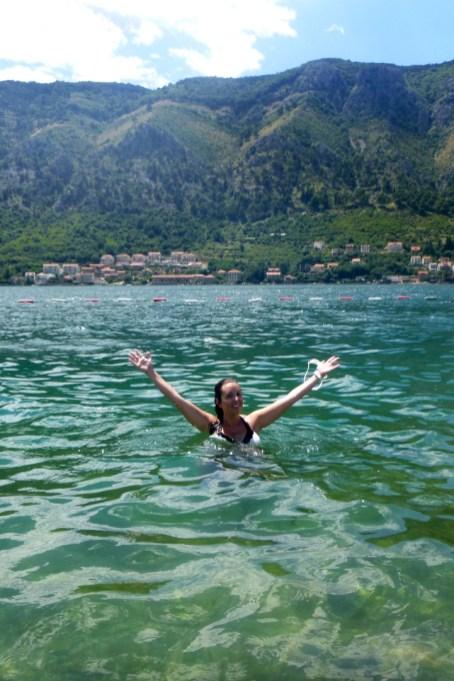 Bay of Kotor, Swimming Kotor