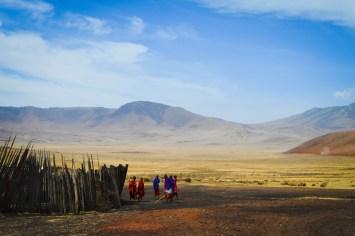 Safari - Maasai People