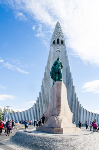 Hallgrimskirja Church, Reykjavik, Iceland