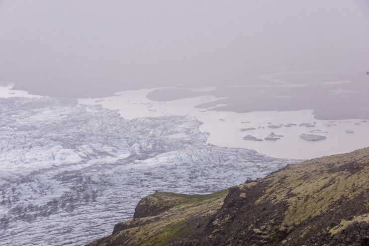 Kristínartindar hike, Vatnajokull