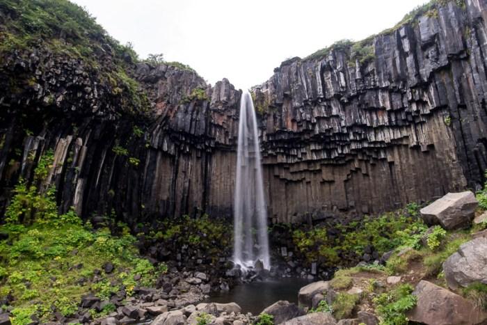 Svartifoss Waterfall, Skaftafell NP, Iceland