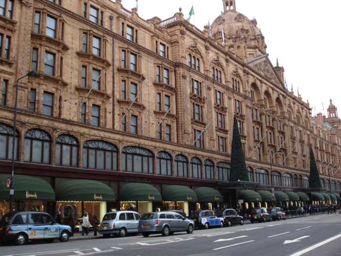 Harrods, Knightsbridge, London, England