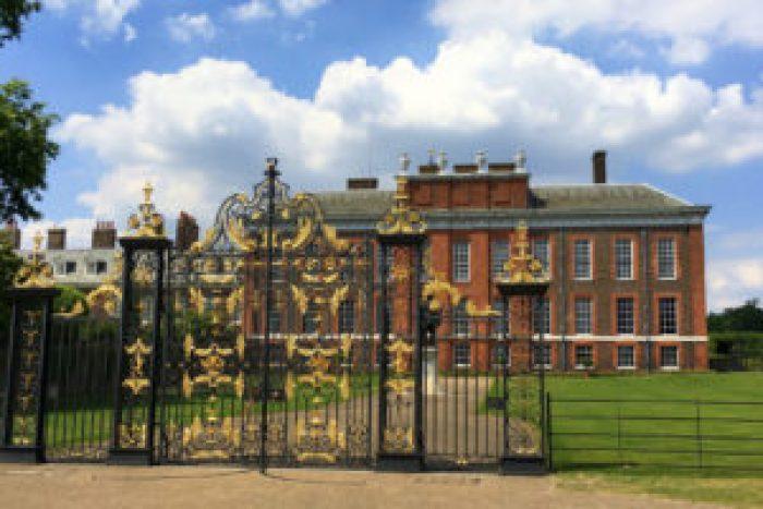Kensington Palace, London, England, Hyde Park