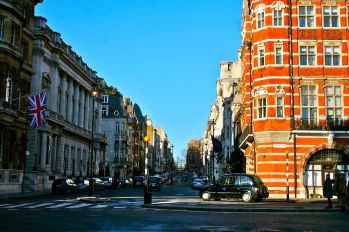 pall mall, london, england