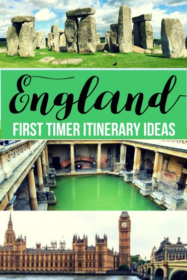 8-10 day itinerary ideas for a first-timers visit to England
