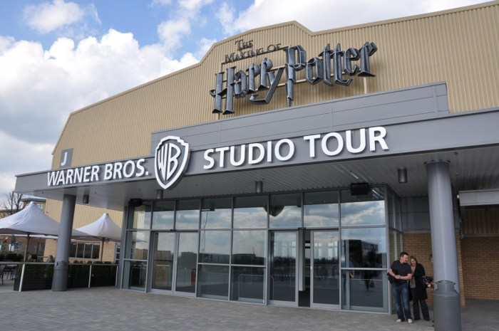 Harry Potter Tour, Leavesden Studios, London, England