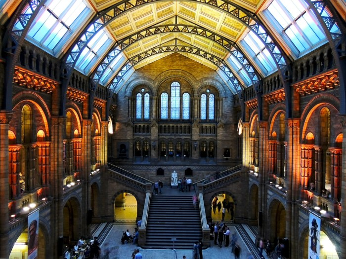 British Natural History Museum, London, England
