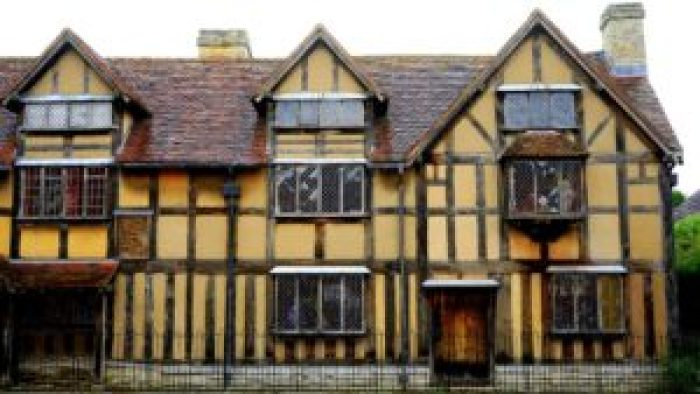 Shakespeare's Home, Stratford Upon Avon, England