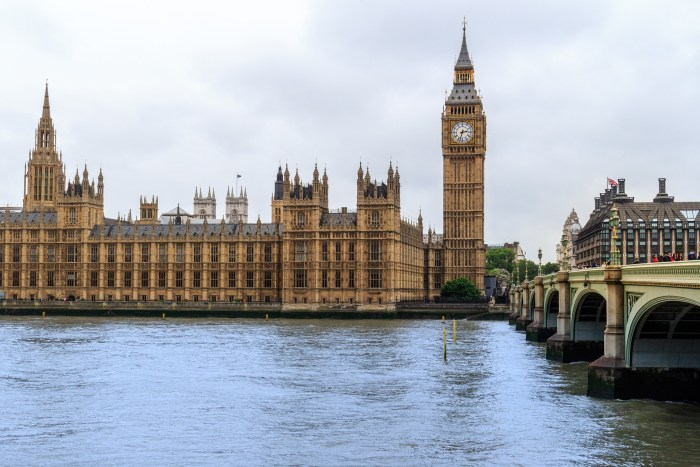 Houses of Parliament, Big Ben, London, England