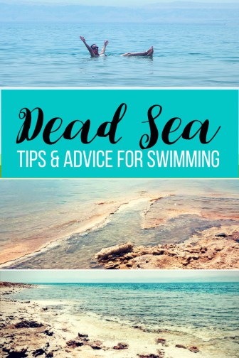 Tips and Advice for Surviving a Dip in the Dead Sea in Jordan