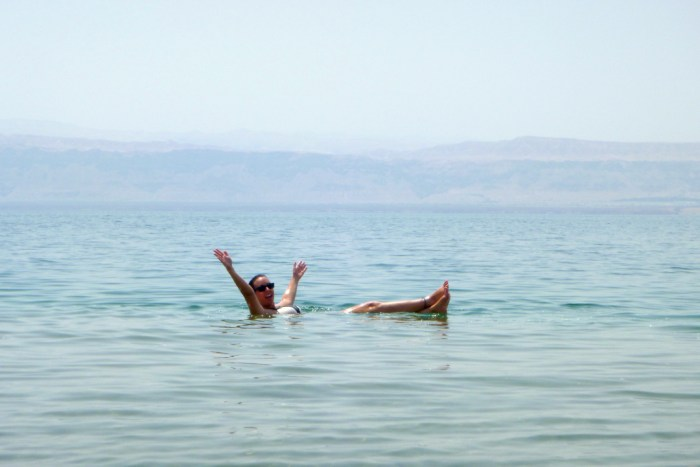 FLoating, Dead Sea, Tips