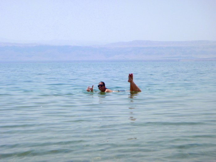 Amman Beach: Dead Sea, Jordan