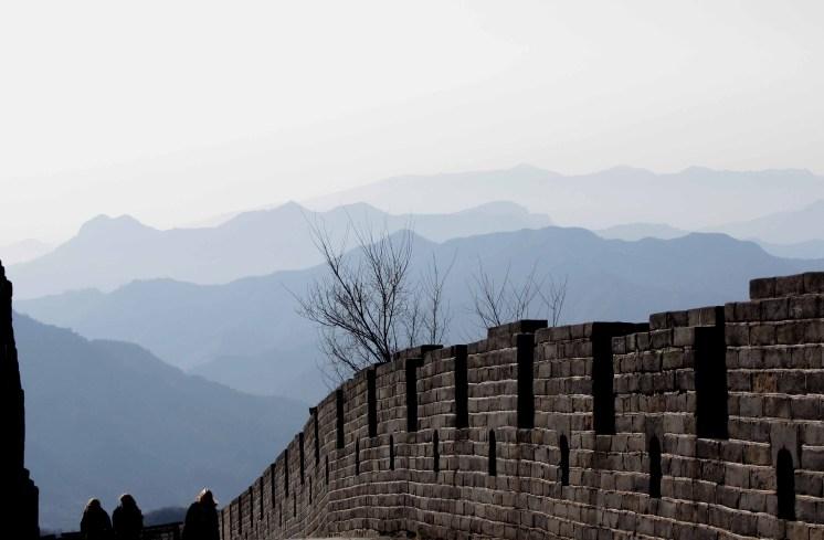 Great Wall of China at Mu Tian Yu
