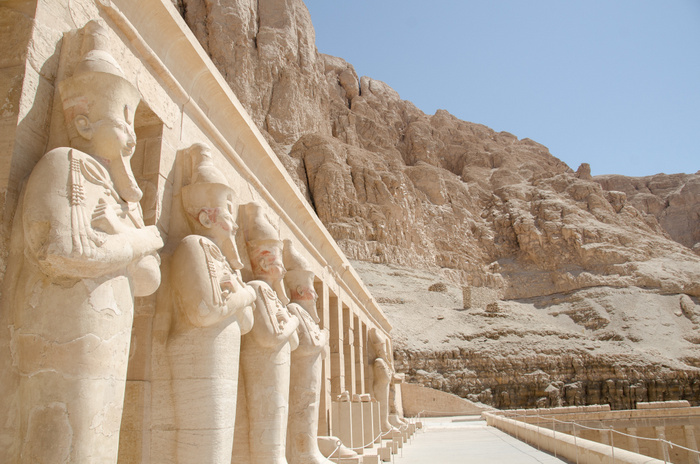 mortuary temple hatshepsut, luxor, egypt