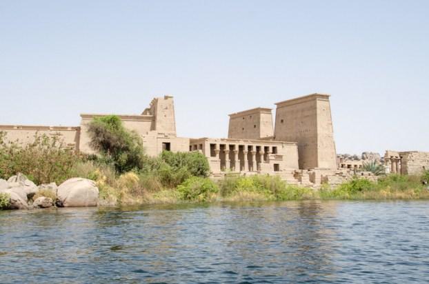 Philae Temple, Lake Nasser, Egypt, Aswan