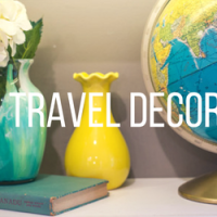 Travel Themed House Decorations