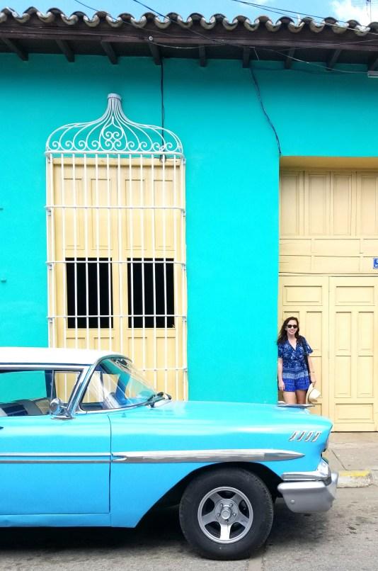 trinidad cuba, old cars