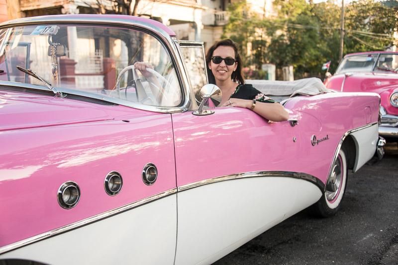 vintage car, havana, cuba