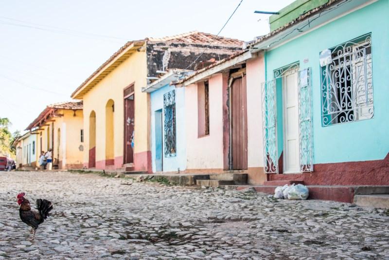 trinidad,cobblestone, cuba