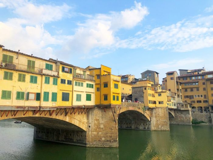 ponte vecchio, florence, firenze, italy
