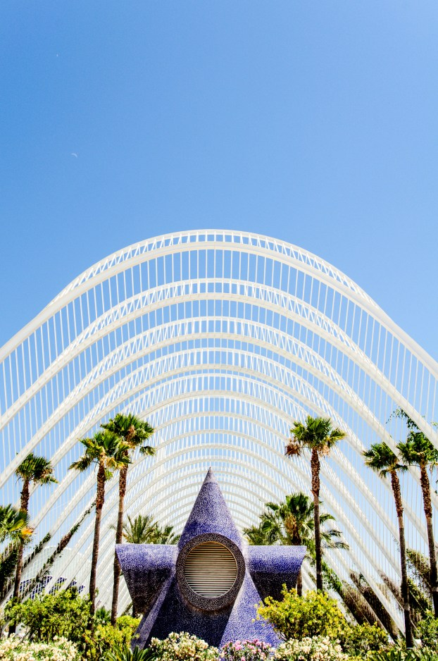 umbracle, city of arts and sciences, valencia