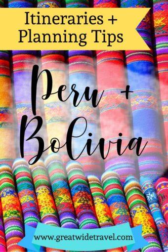 Peru and Bolivia on a budget for 10-21 days
