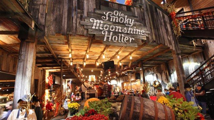 Ole Smoky Moonshine Holler, Gatlinburg Tennessee